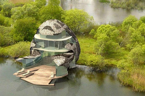 futuristic green house