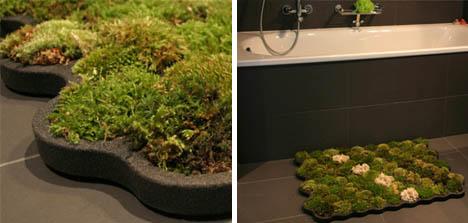 жизнь-мохово-ванной-ковер-дизайн