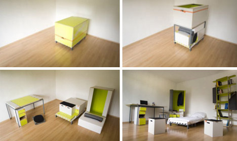 Ordinaire Creative Bedroom Room In A Box Interior Design