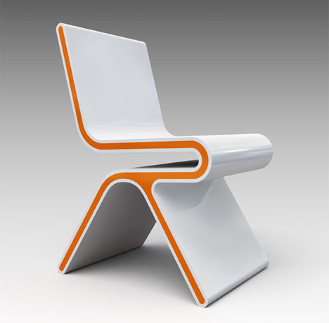 Design  Furniture on Futuristic Furniture  Ultramodern Desk   Chair Design Set   Designs