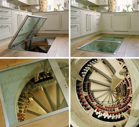 spiral staircase wine cellar design Design Your House