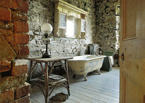 Home House Design: Vintage Bathroom Interior Evokes FauxRetro | the ...