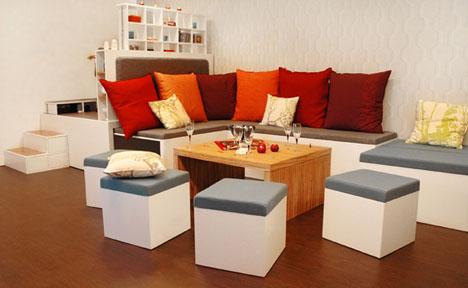 compact expanding living furnitures Furnitures