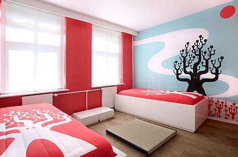 ... Interiors: Art Hotel Bedroom Designs Designs & Id