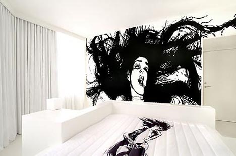 Houses Design ArtistDesigned Interiors Art Hotel Bedroom Designs
