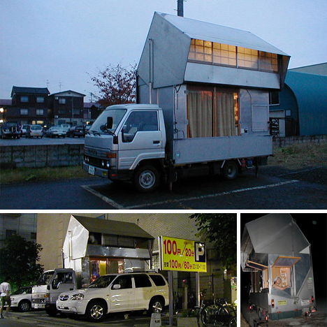 diy bizarre japanese motor home - Construye tu propia camper