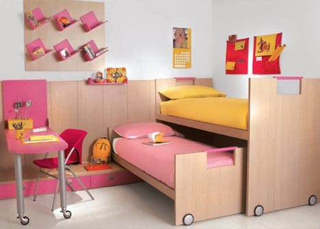 Kids Room Furniture Ideas on Convertible Kids Bedroom Furniture   Designs   Ideas On Dornob