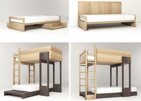 With all of the more elaborate bunk beds available, designed to cater to ...