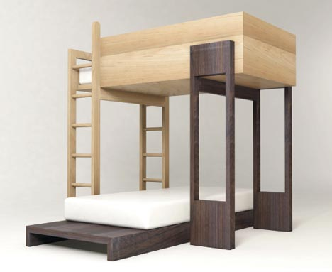 simple-wooden-kids-bunk-bed