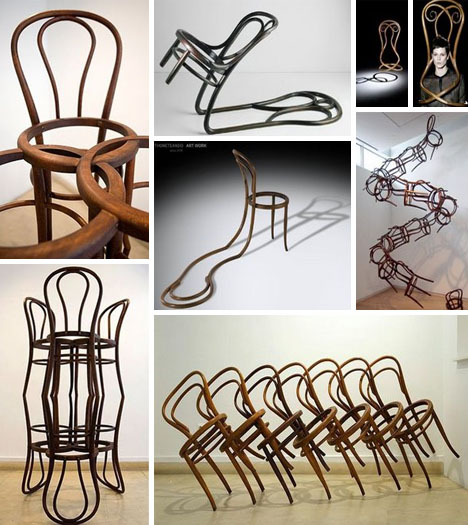 art wooden chair designs