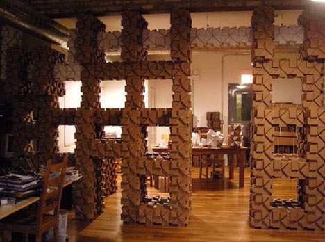 cardboard diy interior design
