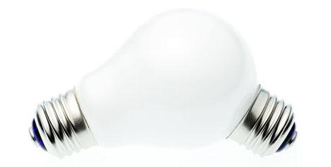 funny strange light bulb
