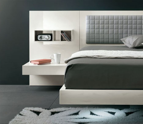 futuristic modern bed design