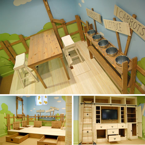 Kids Room on Cool Interior Tree Home  Best Kids Bedroom Design Ever    Designs