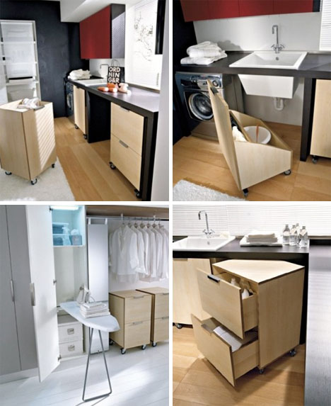 modern laundry room furniture