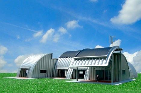 prefab off grid green house