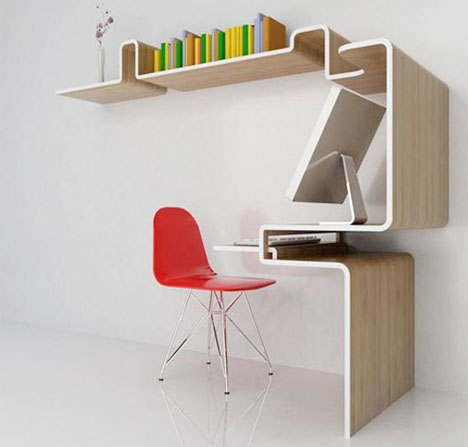 space saving home desk