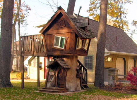 For better or worse, not everyone who tries knows how to build a tree house.
