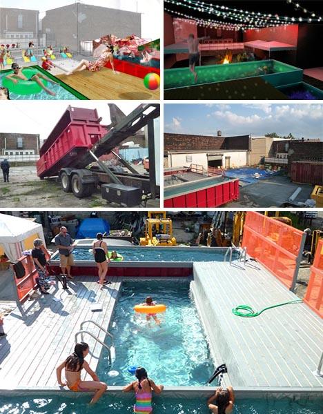 urban guerrilla swimming pool