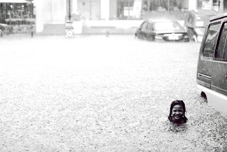 urban swimming idea
