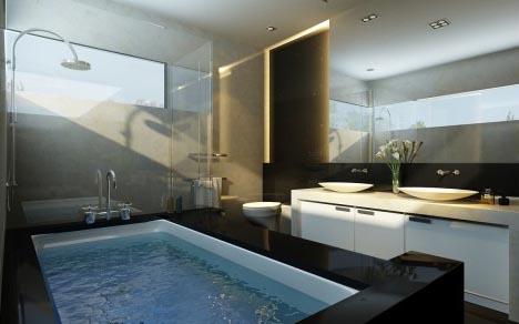 Hasting's Estate Bathroom-interio-light-design