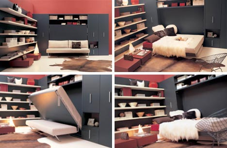 covertible sofa wall bed