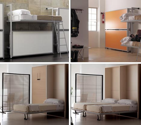 fold out cool beds design