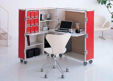 modular portable office furniture