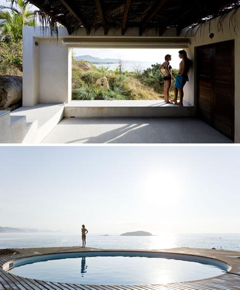 ocean luxury beach house