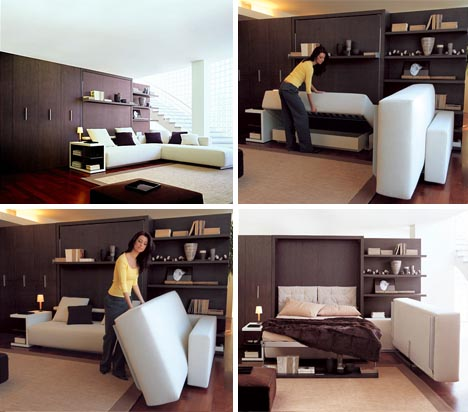 transforming luxury sofa bed