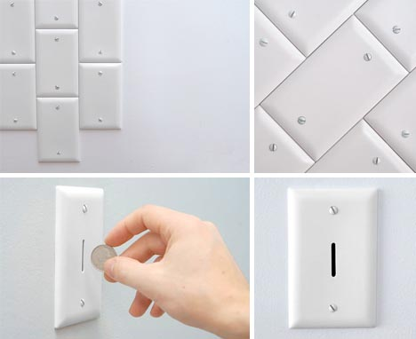 wall electric socket plates