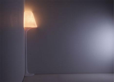 corner floor lamp design