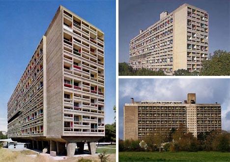 le corbusier unite de habitation