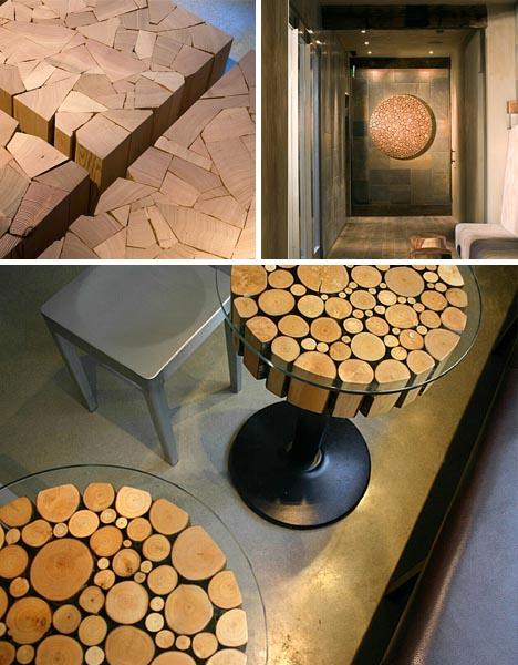 log furniture art craft