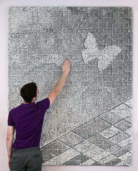 wall hanging rug design