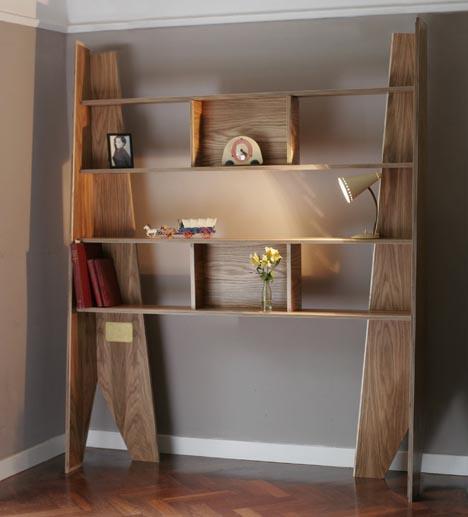 bookshelf coffin idea