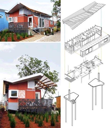 Desain rumah anti-banjir