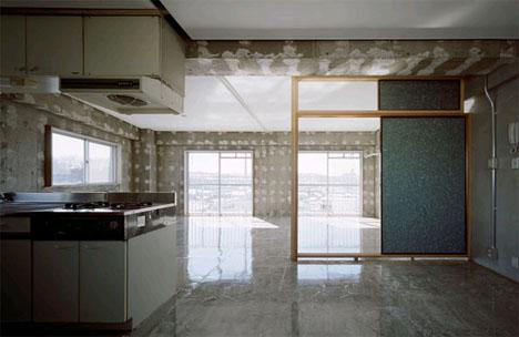 minimalist warehouse loft condo