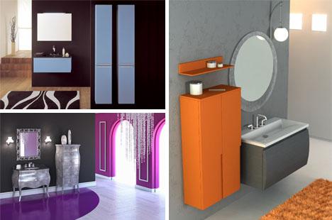 bathroom color themes