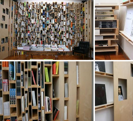 bookcase art design