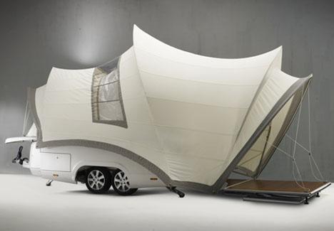 camper trailer luxury home