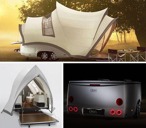 camper trailer motor home