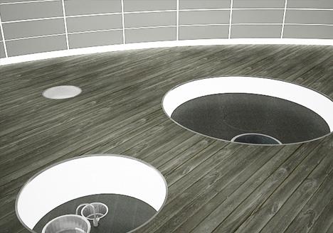 hidden kitchen concept