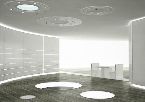 hidden living dining room