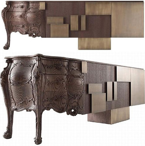 Haammaz: (Con)Fused Furniture Design: Hybrid Historic+Modern Style