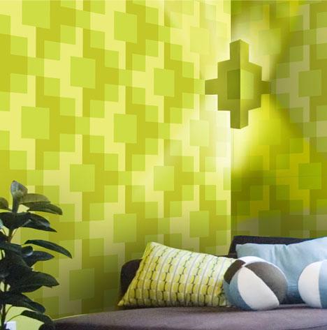 wallpaper designs 3d. interactive wallpaper light