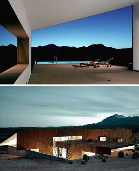 modern minimalist desert house