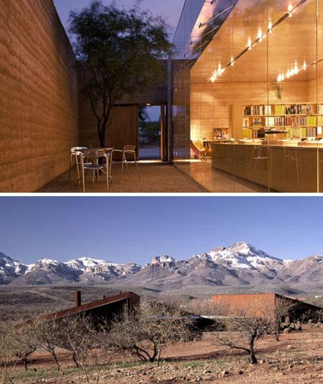 modernist desert house