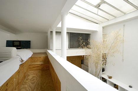 simple modern loft paris