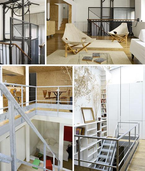 simple modern warehouse loft